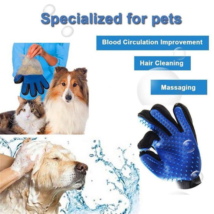 Grooming Glove Pet Deshedding Brush