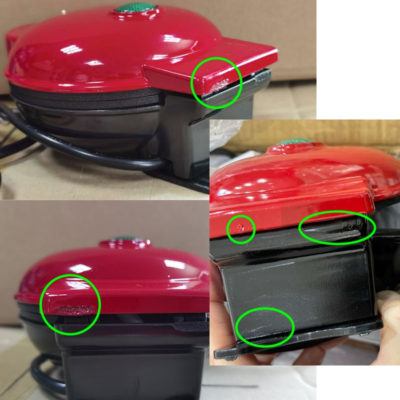 Mini Waffle Machine with Indicator Light