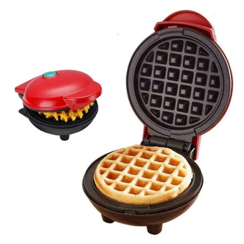 Mini Waffle Machine with Indicator Light