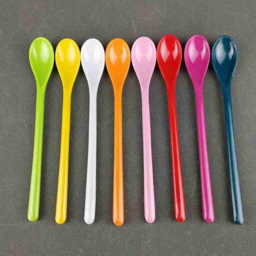 Long Dessert Spoon and Drink Stirrer