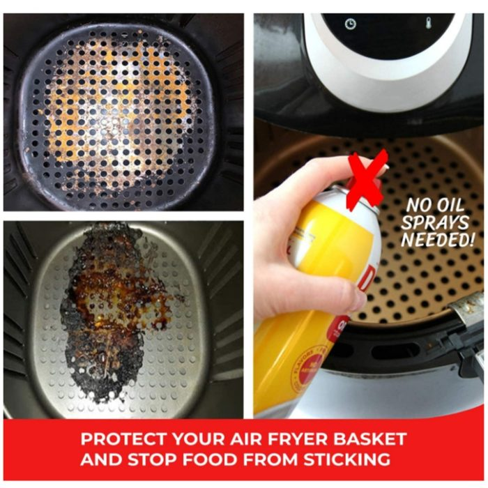 Reusable Silicone Mat for Air Fryer