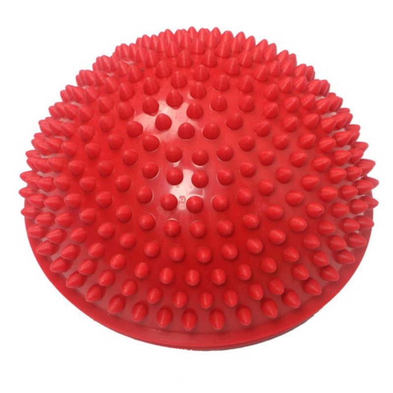 Newly Inflatable Half Sphere Yoga Balls PVC Massage Fitball Exercises Trainer Balancing Ball ForGym Pilates Sport Health Fitness
