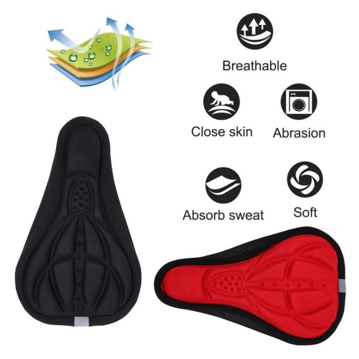 Bicycle Seat Cover Padded Cushion