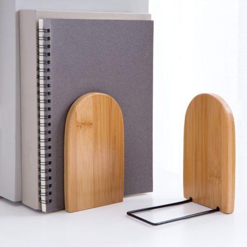 Bookend Holder Wood Desk Organizer