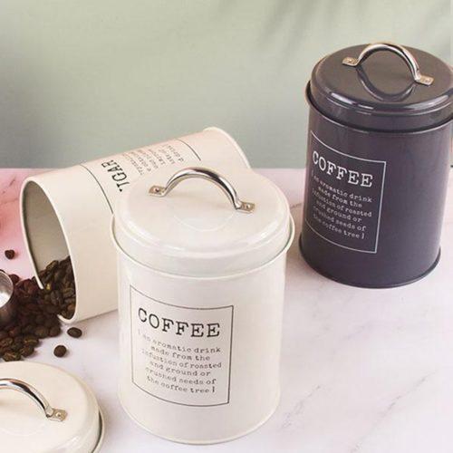 Metal Tea Sugar Canisters (3pcs)