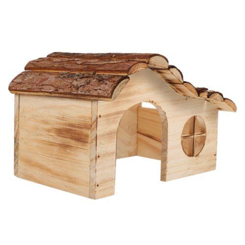 Mini Hamster Wooden House