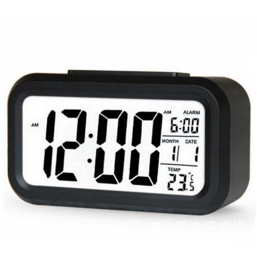 LED Alarm Clock Desk Digital Display