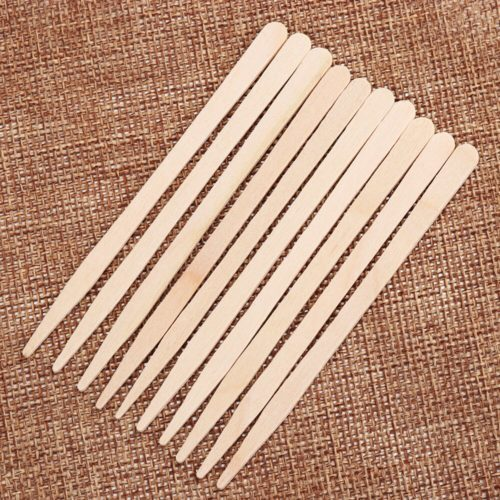 Disposable Wooden Wax Spatulas (100pcs)