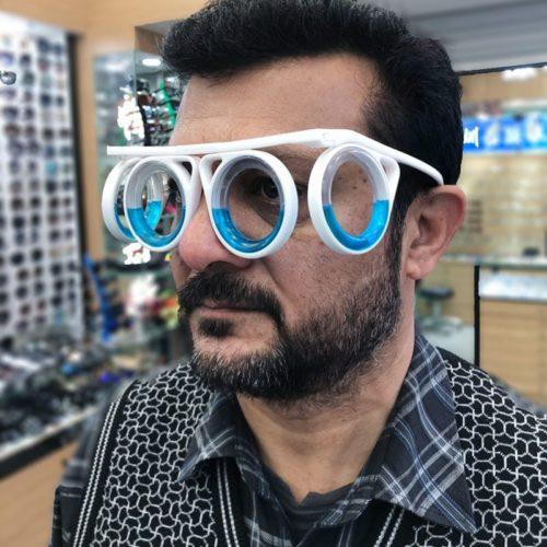 No Lens Motion Sickness Glasses