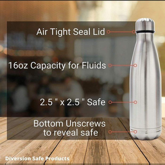 Secret Compartment Water Bottle Safe