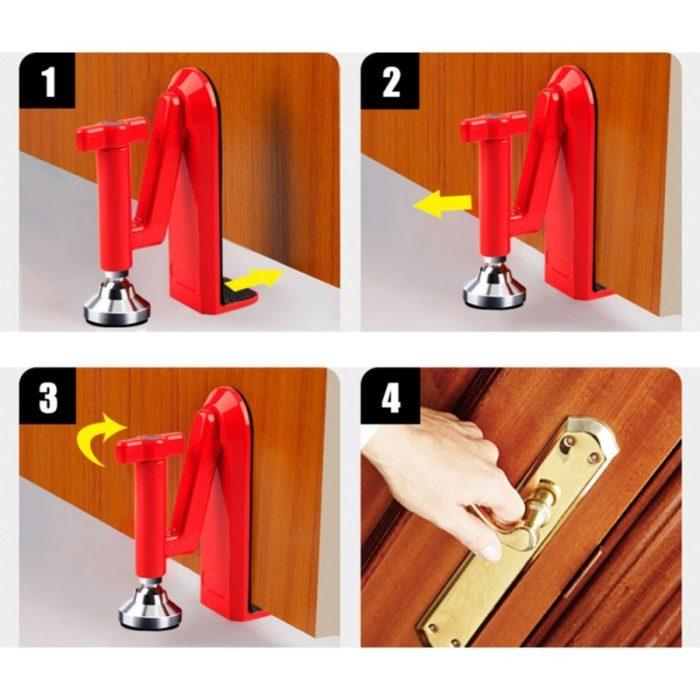 Easy to Install Portable Travel Door Lock