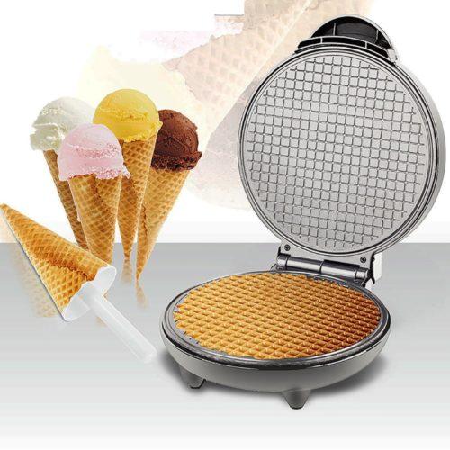 Non-Stick Electric Waffle Cone Iron