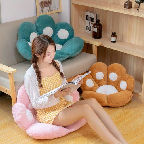 Animal Decorative Cushion Paw Pillow