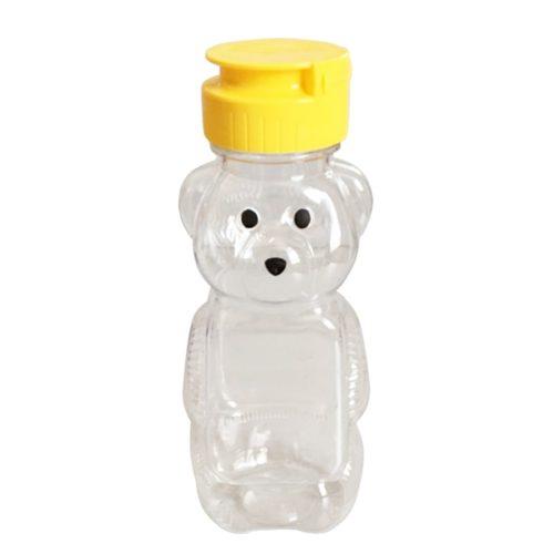 Soft Plastic Bear Honey Bottles (30 pcs)