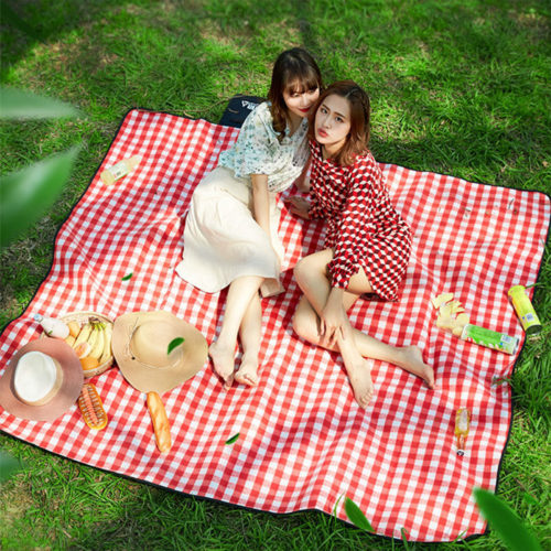 Checkered Waterproof Picnic Mat