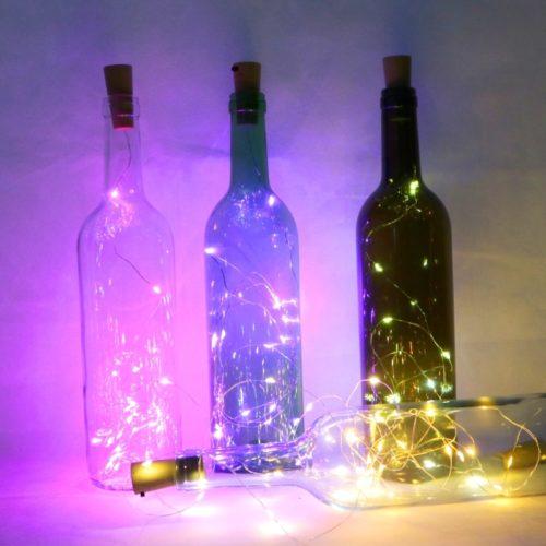 Cork Shape Wine Bottle Fairy Lights