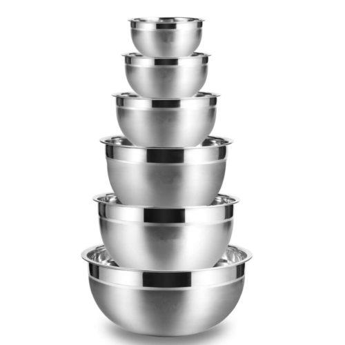 Mixing Bowls for Baking Set (6 Pcs)