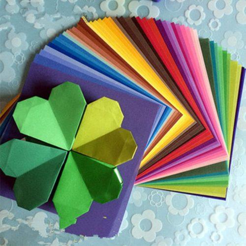 Multi-Color Origami Sheets (50pcs)