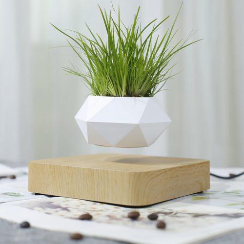 Electric Mini Levitating Flower Pot