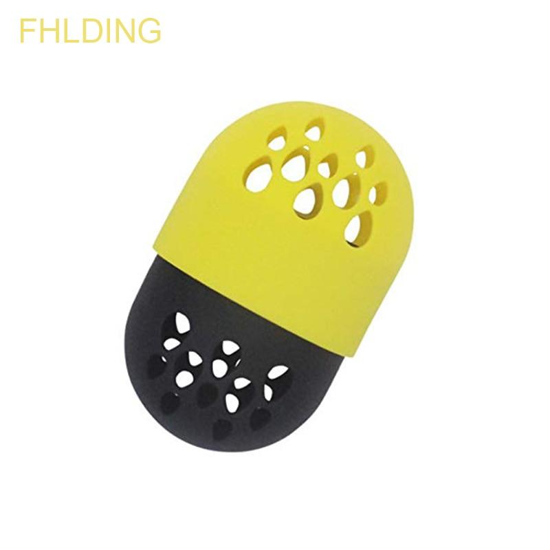 1pc Soft Silicone Powder Puff Drying Holder Beauty Sponge Travel Case Puff Blender Sponge Egg Capsule Display Rack Egg Stand