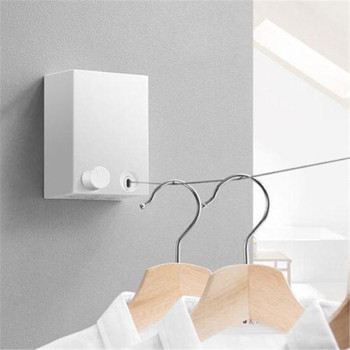 Indoor Retractable Clothesline Drying Rack