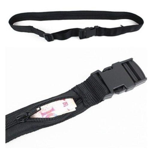 Anti-Theft Secret Compartment Wallet Belt
