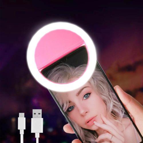 Phone Selfie Light Mini LED Ring