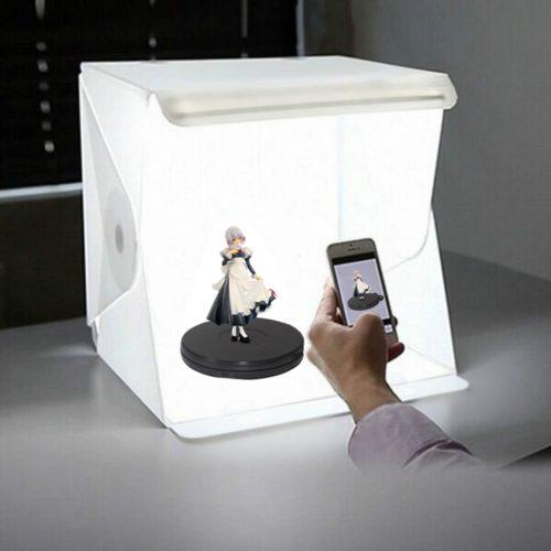 Foldable LED Light Photography Box