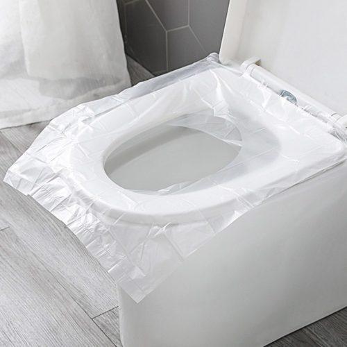 Portable Toilet Seat Covers (50 Pcs)
