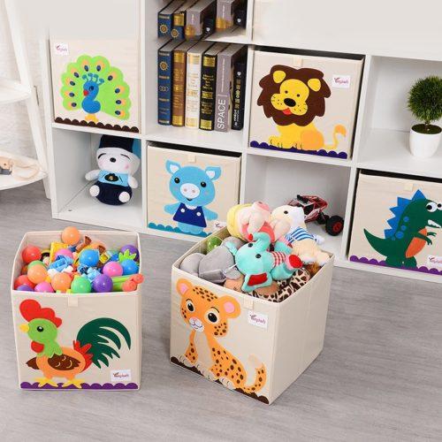 Baby Toy Box Foldable Storage Organizer