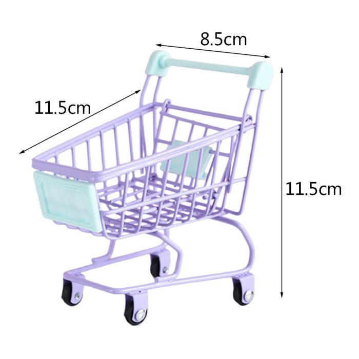 Shopping Cart Toy Mini Trolley