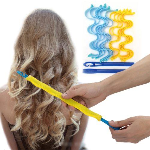 No Heat Hair Magic Curlers (12 pcs)