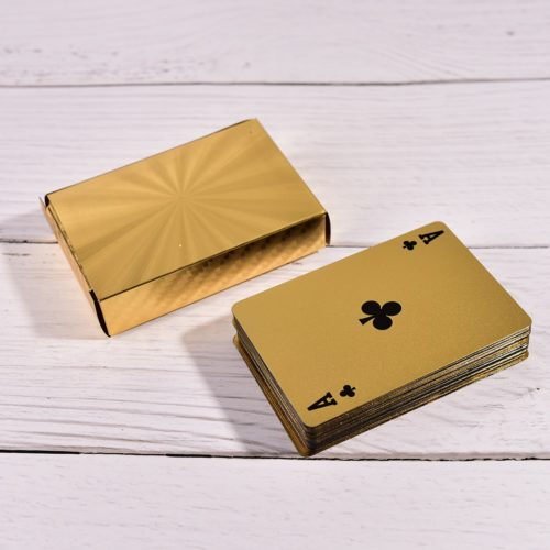 Luxurious Gold Plated Playing Cards