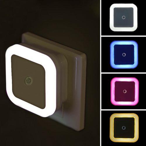 Plug Night Light Sensor LED