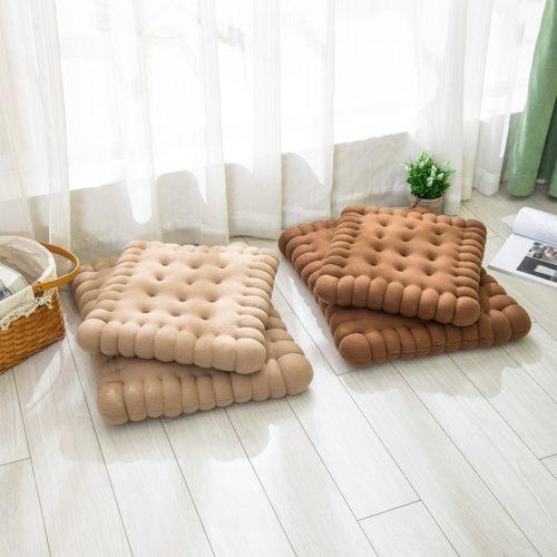 Handmade Cotton Biscuit Pillow