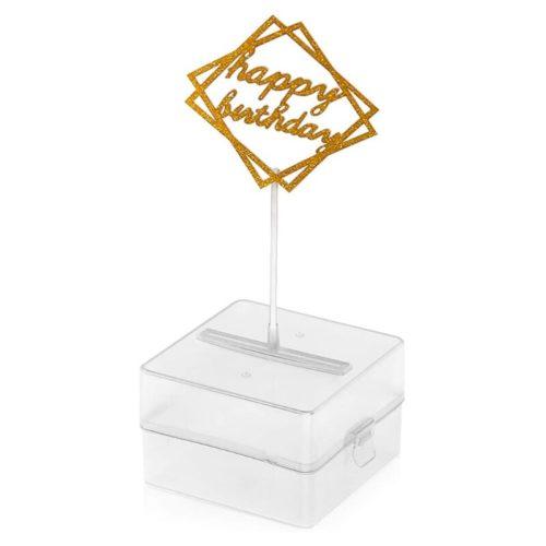 Surprise Pull Cake Money Box