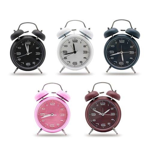 Analog Alarm Clock Retro Design