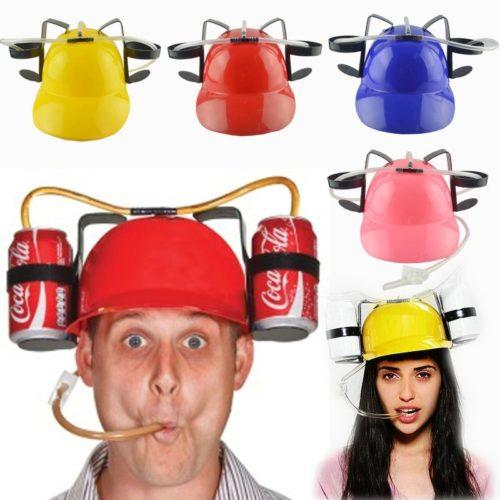 Novelty Lazy Beer Drinking Helmet