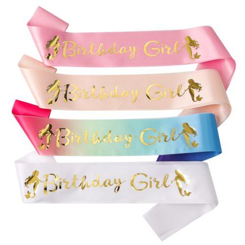 Birthday Girl Sash Party Accessory