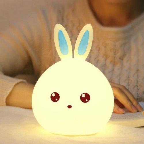 Soft LED Rabbit Night Light