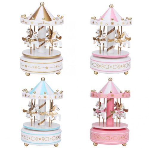 Merry-Go-Round Music Box Carousel