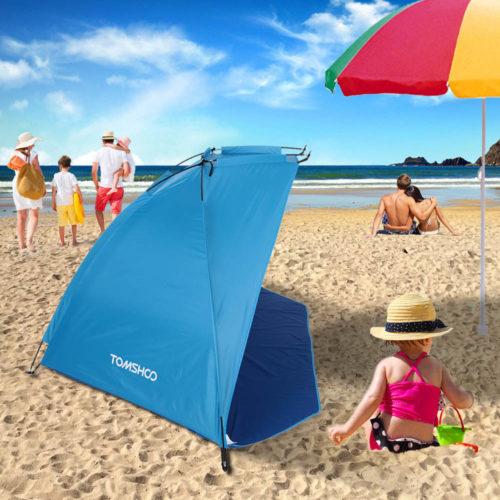 Open Front Portable Beach Tent