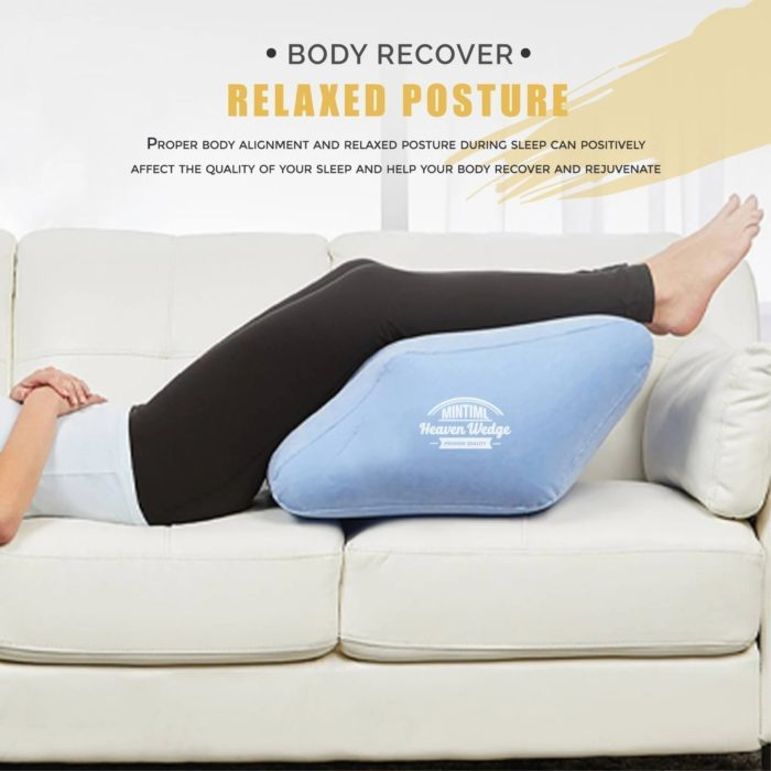 Foot Elevation Pillow Inflatable Wedge