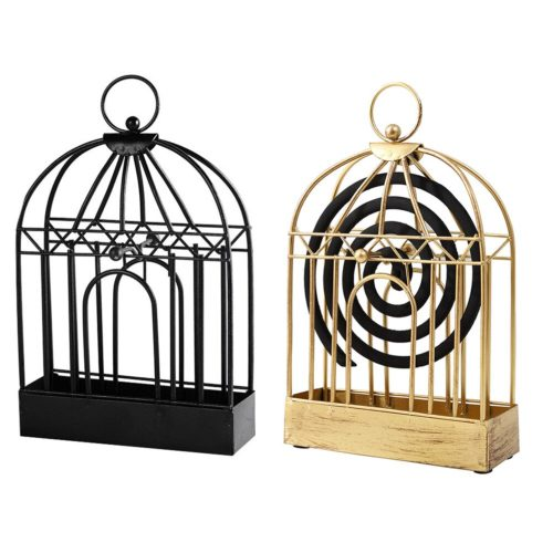 Retro Style Metal Mosquito Coil Holder