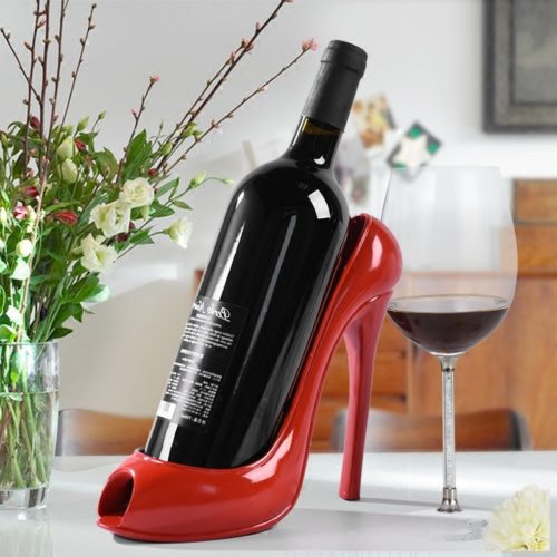 Stiletto Shoe Wine Bottle Holder
