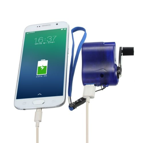Emergency Hand Crank Cell Phone Charger