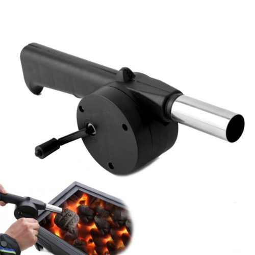 Hand-Cranked Outdoor Barbecue Fan