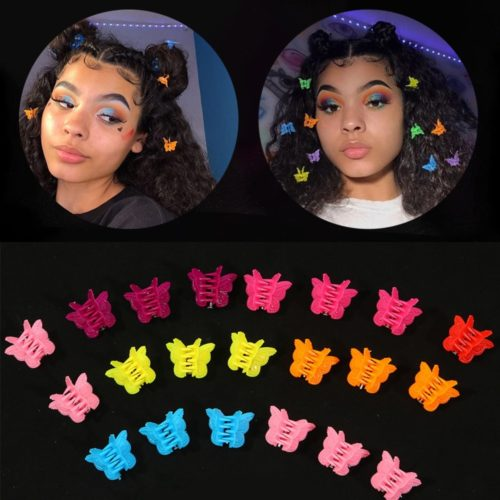 Mini Butterfly Clips Hair Accessories