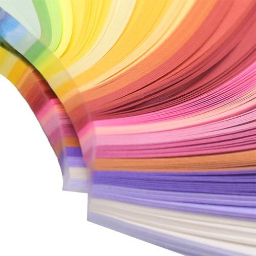 Quilling Paper Strips Art Supplies (260 Pcs)