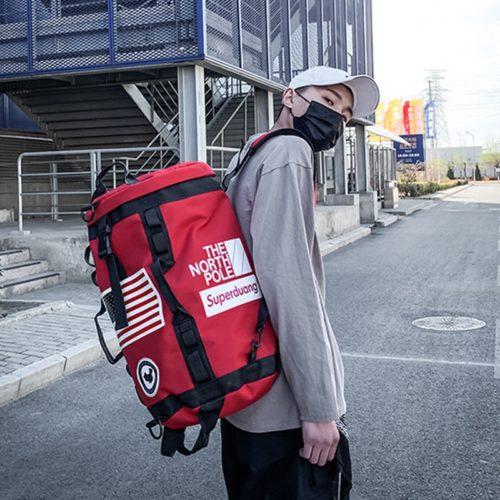 Duffel Backpack Unisex Travel Bag